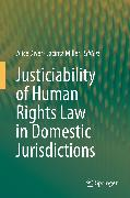 Cover-Bild zu Justiciability of Human Rights Law in Domestic Jurisdictions (eBook) von Miller, Jacinta (Hrsg.)