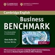 Cover-Bild zu Business Benchmark. Business Preliminary preparation material. Audio-CD von Whitby, Norman