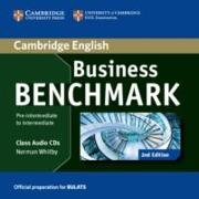 Cover-Bild zu Business Benchmark Pre-intermediate to Intermediate. BULATS Class Audio CDs von Whitby, Norman