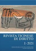 Cover-Bild zu Rivista ticinese di diritto I-2021 von Borghi, Marco (Hrsg.)