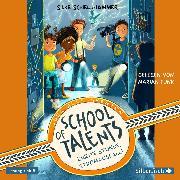 Cover-Bild zu School of Talents 2: Zweite Stunde: Stromausfall! (Audio Download) von Schellhammer, Silke