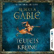 Cover-Bild zu Teufelskrone - Waringham Saga 6 (Gekürzt) (Audio Download) von Gablé, Rebecca
