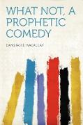 Cover-Bild zu What Not, a Prophetic Comedy von Macaulay, Dame Rose
