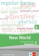 Cover-Bild zu New World 5. Grammar and Vocabulary, Booster 5E