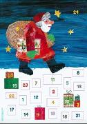 Cover-Bild zu Die kleine Raupe Nimmersatt - Mein Adventskalender von Carle, Eric
