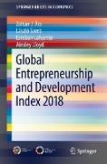 Cover-Bild zu Global Entrepreneurship and Development Index 2018 von Ács, Zoltán J.