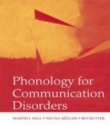 Cover-Bild zu Ball, Martin J.: Phonology for Communication Disorders (eBook)