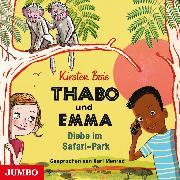 Cover-Bild zu Thabo und Emma. Diebe im Safari-Park (Audio Download) von Boie, Kirsten