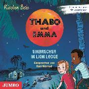 Cover-Bild zu Thabo und Emma. Einbrecher in Lion Lodge (Audio Download) von Boie, Kirsten