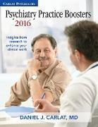 Cover-Bild zu Psychiatry Practice Boosters 2016 von Carlat, Daniel J. (Hrsg.)