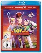 Cover-Bild zu Toy Story 4 - 3D + 2D + Bonus + Sammelkarten von Unkrich, Lee (Reg.)