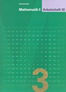Cover-Bild zu Mathematik 3. Arbeitsheft 3 von Keller, Franz