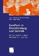 Cover-Bild zu Exzellenz in Dienstleistung und Vertrieb (eBook) von Ahlert, Dieter (Hrsg.)