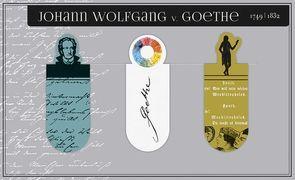 Cover-Bild zu Magnetlesezeichen Goethe