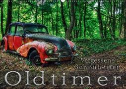 Cover-Bild zu Oldtimer - Vergessene Schönheiten (Wandkalender 2021 DIN A2 quer) von Adams, Heribert