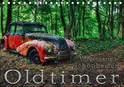 Cover-Bild zu Oldtimer - Vergessene Schönheiten (Tischkalender 2021 DIN A5 quer) von Adams, Heribert