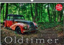 Cover-Bild zu Oldtimer - Vergessene Schönheiten (Wandkalender 2021 DIN A3 quer) von Adams, Heribert