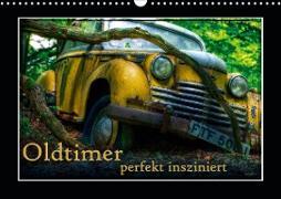 Cover-Bild zu Oldtimer perfekt insziniert (Wandkalender 2021 DIN A3 quer) von Adams, Heribert