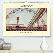Cover-Bild zu Ruhrpott - Kunstvolle Ansichten (Premium, hochwertiger DIN A2 Wandkalender 2021, Kunstdruck in Hochglanz) von Adams, Heribert