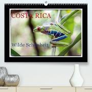 Cover-Bild zu Costa Rica - Wilde Schönheit (Premium, hochwertiger DIN A2 Wandkalender 2021, Kunstdruck in Hochglanz) von Adams, Heribert