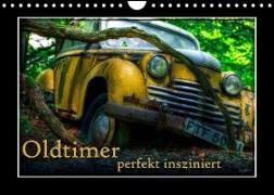 Cover-Bild zu Oldtimer perfekt insziniert (Wandkalender 2022 DIN A4 quer) von Adams, Heribert