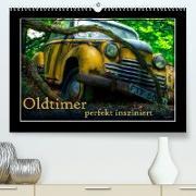 Cover-Bild zu Oldtimer perfekt insziniert (Premium, hochwertiger DIN A2 Wandkalender 2022, Kunstdruck in Hochglanz) von Adams, Heribert