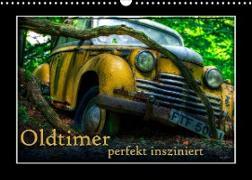 Cover-Bild zu Oldtimer perfekt insziniert (Wandkalender 2022 DIN A3 quer) von Adams, Heribert