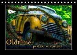Cover-Bild zu Oldtimer perfekt insziniert (Tischkalender 2022 DIN A5 quer) von Adams, Heribert