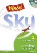 Cover-Bild zu Level 2: New Sky Level 2 Activity Book & Multi-ROM - New Sky. New Edition von Bygrave, Jonathan