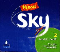 Cover-Bild zu Level 2: New Sky Level 2 Class CD - New Sky. New Edition von Freebairn, Ingrid