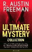 Cover-Bild zu R. AUSTIN FREEMAN - Ultimate Mystery Collection: 9 Novels & 39 Short Stories, including Dr. Thorndyke Series, Romney Pringle Adventures & Other Thriller Classics (Illustrated) (eBook) von Freeman, R. Austin
