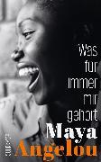 Cover-Bild zu Angelou, Maya: Was für immer mir gehört (eBook)