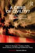 Cover-Bild zu A Crisis of Civility? (eBook) von Boatright, Robert G. (Hrsg.)