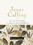 Cover-Bild zu Jesus Calling, 365 Devotions with Real-Life Stories, Hardcover, with Full Scriptures (eBook) von Young, Sarah