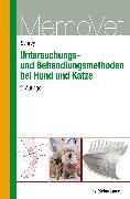 Cover-Bild zu Untersuchungs- und Behandlungsmethoden bei Hund und Katze (eBook) von Schrey, Christian F