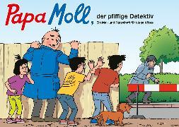 Cover-Bild zu Papa Moll, der pfiffige Detektiv von Meier, Rolf (Illustr.)