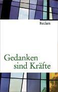 Cover-Bild zu Gedanken sind Kräfte von Burkhardt, Florian (Ausw.)