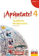 Cover-Bild zu ¡Apúntate! 4. Cuaderno de ejercicios von Grimm, Alexander