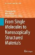 Cover-Bild zu Basché, Thomas (Hrsg.): From Single Molecules to Nanoscopically Structured Materials