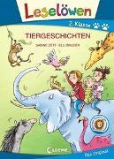 Cover-Bild zu Leselöwen 2. Klasse - Tiergeschichten von Zett, Sabine
