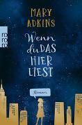 Cover-Bild zu Adkins, Mary: Wenn du das hier liest