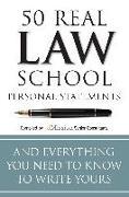 Cover-Bild zu Adkins, Mary (Hrsg.): 50 Real Law School Personal Statements (eBook)