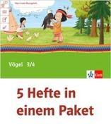 Cover-Bild zu Mein Indianerheft. Vögel. Arbeitsheft Klasse 3/4 (5-er Paket)