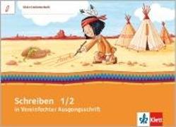 Cover-Bild zu Mein Indianerheft. Schreiben üben in Vereinfachter Ausgangsschrift. Arbeitsheft 1.-2. Schuljahr