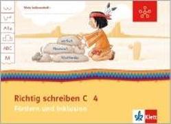 Cover-Bild zu Mein Indianerheft. Richtig schreiben C. Fördern und Inklusion. Arbeitsheft 4. Schuljahr