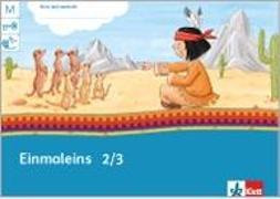 Cover-Bild zu Mein Indianerheft. Einmaleinstrainer 2./3.Schuljahr