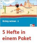 Cover-Bild zu Mein Indianerheft. Richtig rechnen. Arbeitsheft Klasse 2 (5-er Paket)