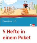 Cover-Bild zu Mein Indianerheft. Einmaleins. Arbeitsheft Klasse 2/3 (5-er Paket)