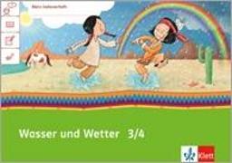 Cover-Bild zu Mein Indianerheft. Wasser und Wetter. Arbeitsheft Klasse 3/4