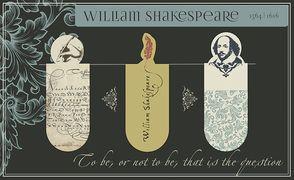 Cover-Bild zu Magnetlesezeichen Shakespeare